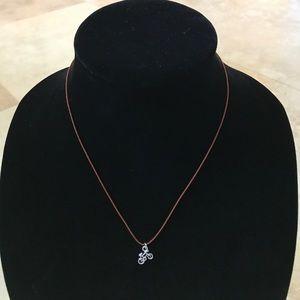 Mini bike necklace for sale