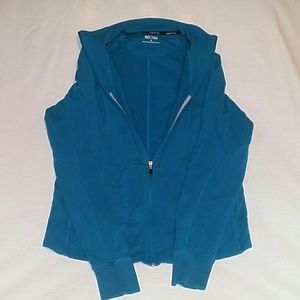 Kenneth Cole Blue Zip UP Hoodie