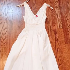 white h&m halter dress on Poshmark