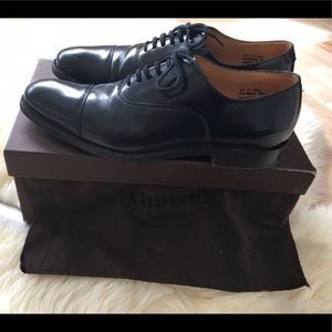Church's Other - Church's Men's Black Leather Oxfords