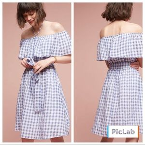 Anthropologie off shoulder dress by Tylho