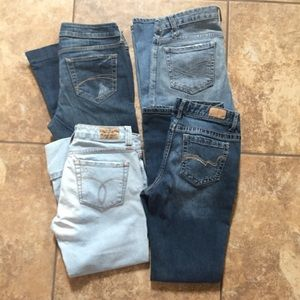 Aeropostale Denim - Size 5 four pairs of jeans