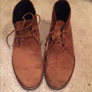 To Boot Other - To Boot NYC suede chukkah boots