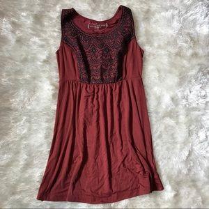 SOMA Embroidered Sleeveless Tunic
