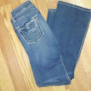 BKE Denim - BKE Stella  Distressed Jeans