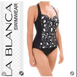 La Blanca Other - NWT La Blanca Black & White Swimsuit