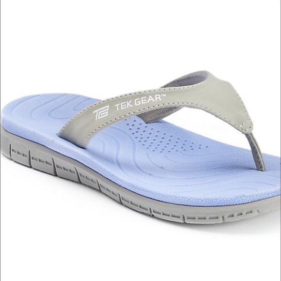 Shoes | Tek Gear Flip Flops Nwt | Poshmark