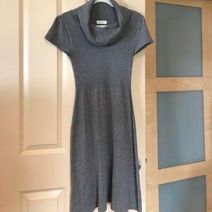 Calvin Klein gray sweater dress