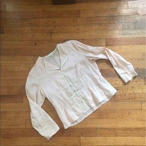 J. Jill Jackets & Blazers - J. Jill   Linen Overcoat size 2