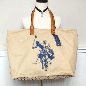 U.S. Polo Assn. Handbags - NWT U.S Polo Assn. Travel Tote Bag XL