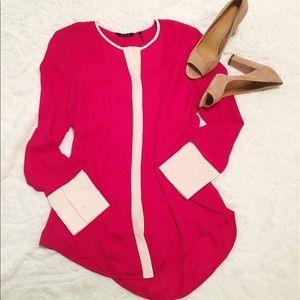 100% silk blouse