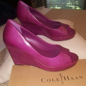 Cole Haan Shoes - PURPLE WedgeS