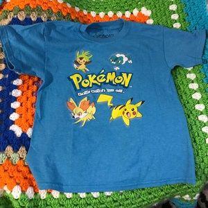 Pokemon Other - Pokémon Graphic T-Shirt Pre-Loved Child's Size 8