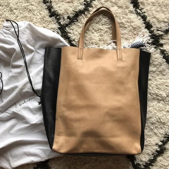 t. babaton Bags   T Babaton Two Tone Leather Tote Editor Pick   Poshmark 38513a38c8
