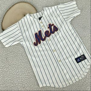 Majestic Other - Mets Baseball Jersey Majestic Weight 5 Youth Size