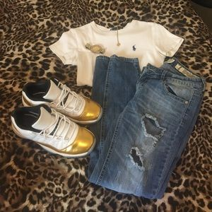 Ripped jeans size 3 (juniors)