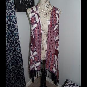 Maurice's Kimono style vest