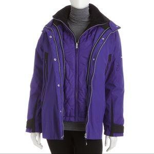 ❌ Four-in-One Ski Jacket, Magic Purple❌