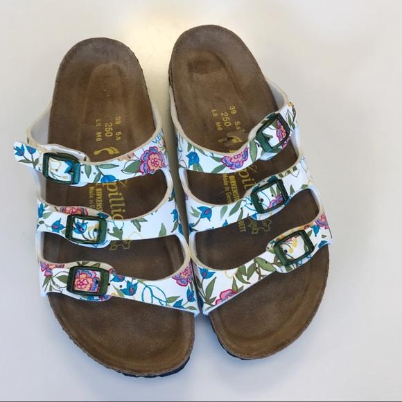 9185c3def9ec Birkenstock Shoes - Papillio by Birkenstock 3 Strap Floral Sandals