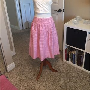 Brooks Brothers Dresses & Skirts - Brooksbrothers pink gingham skirt size 4