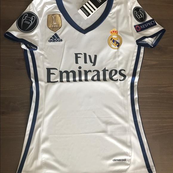 b822ea78e Women Real Madrid Sergio Ramos  4 adidas Soccer