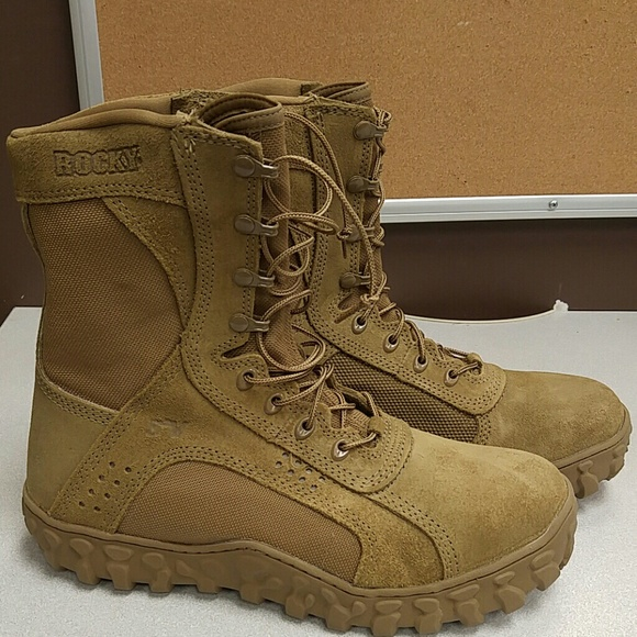 0b469c6a541 Rocky Men's S2V Steel Toe Tactical Military Boot NWT