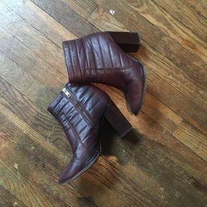 Heeled Madewell Booties