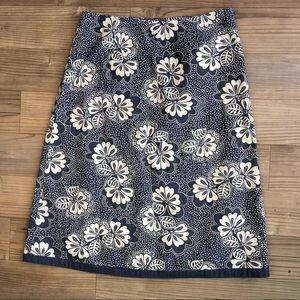 Boden Dresses & Skirts - Boden A-Line Floral Skirt Gray