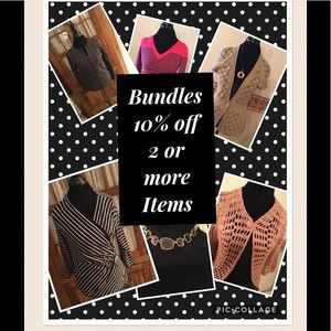 10% Off Bundle of 2 or More Items