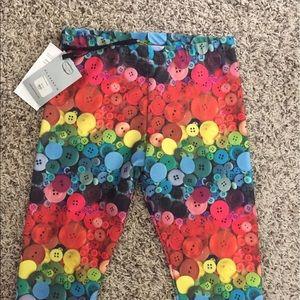 Zara Terez Other - Zara Terez NWT button-print tights, Jr. XS, kids L