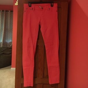 Asphalt Denim - Hot Pink Skinny Jeans