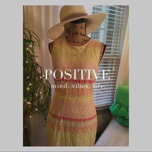 Ann Taylor Dresses & Skirts - Ann Taylor Pastel Lace