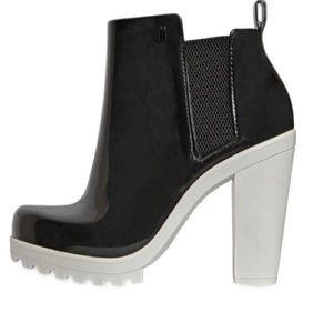 Melissa Shoes - Melissa 110mm Soldier PVC ankle bootie