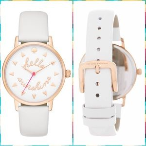 ♠️️Kate Spade 'Hello Sunshine' Metro Watch☀️