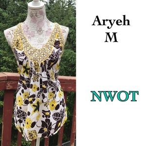 Aryeh Tops - ⤵️Aryeh Vintage Style Floral Print Tank Top M