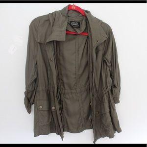 Ashley By 26 International Jackets & Blazers - Brand new army green coat/jacket