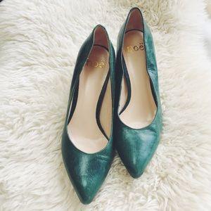 Noë Shoes - Beautiful Green Classic Heels