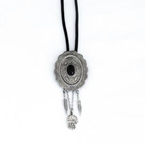 Cool concho necklace with charms