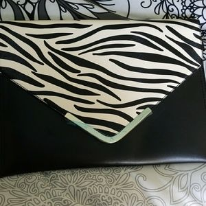 Justfab zebra  clutch