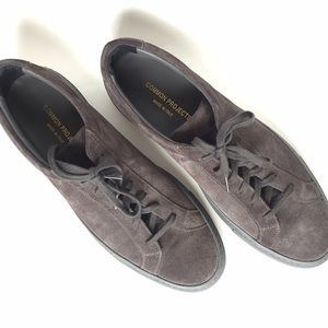 Common Projects Other - NEW - COMMON PROJECTS Dark Grey Suede Sneakers
