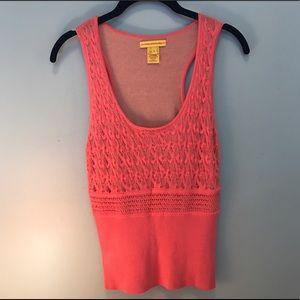 Catherine Malandrino Pink Knit Top