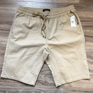 Urban Outfitters Other - Jogger shorts joggers khaki draw string nwt