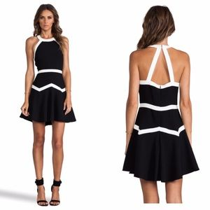 Parker Dresses & Skirts - Parker Rogue Combo dress in black and white