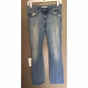 2.1 Denim Denim - 2.1 Light Washed Denim Bootcut Jeans