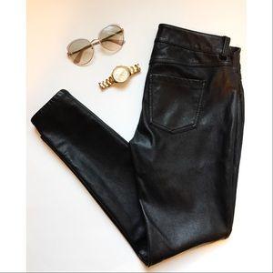 Black Faux Leather Pants🎀