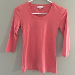 Forever 21 simple 3/4 sleeve top
