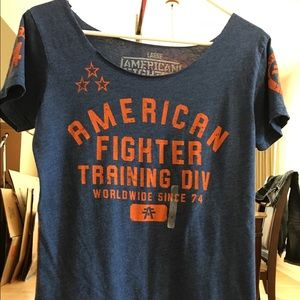 American Fighter Tops - Women's American Fighter shirt