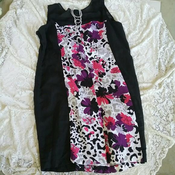edc31460358 Ashley Stewart Dresses   Skirts - Ashley Stewart Linen Blend Dress size 24