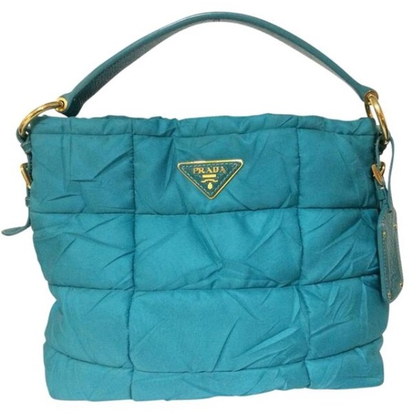 79212ab5b402 Prada Bags | Not For Sale Turquoise Nylon Bag Tote | Poshmark