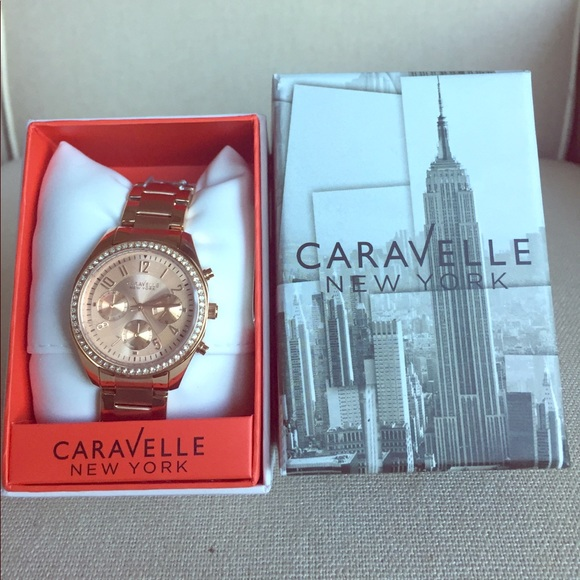 a9502caaca76b NWT Caravelle New York by Bulova Women s watch